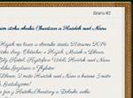 Ukázka fontu Parisienne online-kroniky